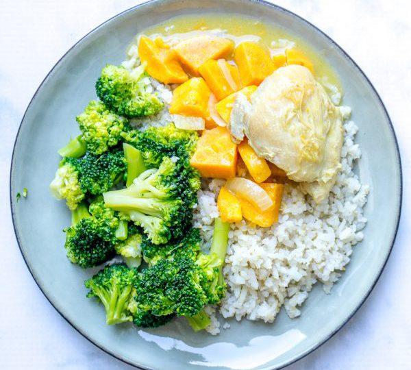 Kippenstoof met broccoli